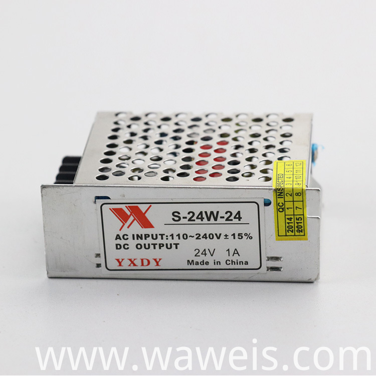 24v 1a power supply
