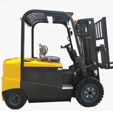 4 Wheel 3 Ton Electric Compact Forklift Truck