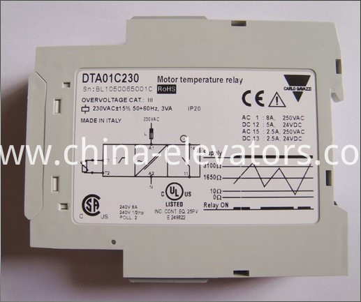 Motor Temperature Relay for ThyssenKrupp Escalators DTA01C230