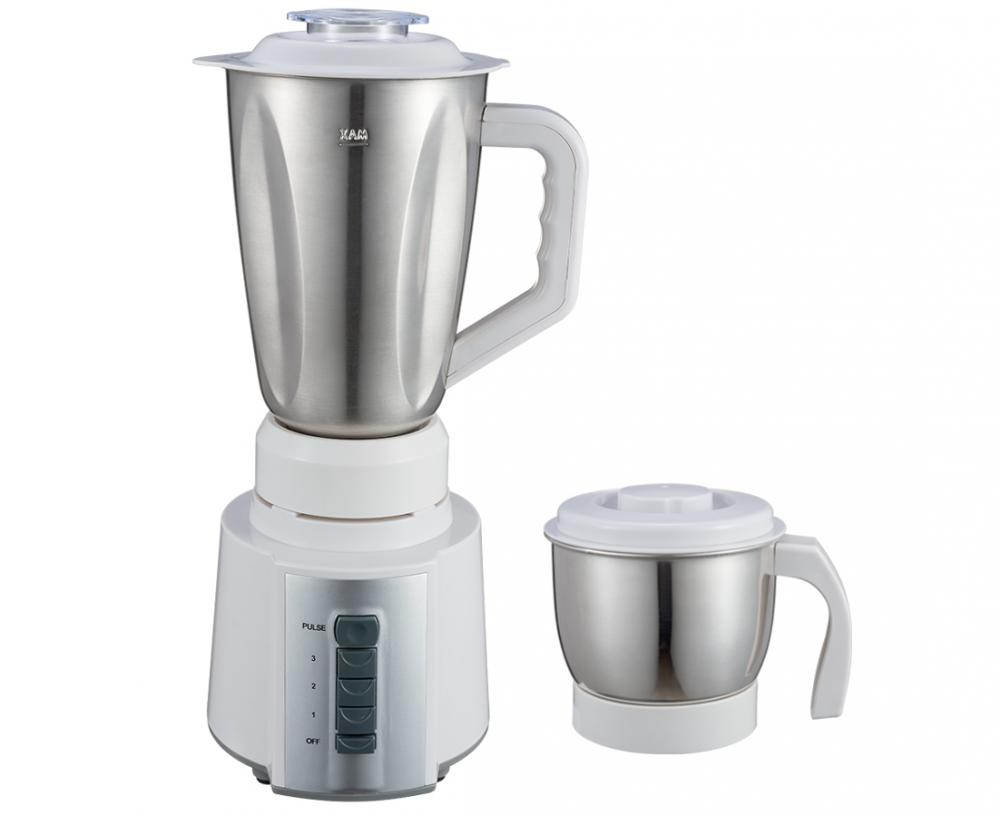 Push Button 2 In 1 Stainless Steel Mixer Grinder