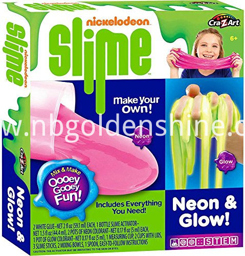 Neon And Glow In The Dark Slimy Creations