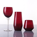 Wedding Colored Long Stem Goblet Cup Red Wine Glass