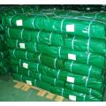 UV protected high strength green tarp