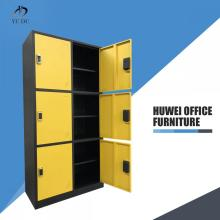 Durable Used Gym School Metal Steel Wardrobe Lockers