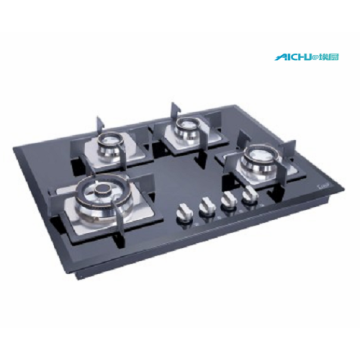 Glen 4 Burners Auto Ignition Glass Hob