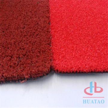 Artificial grass turf for running track