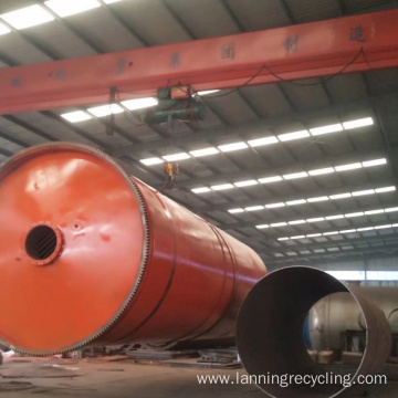 Environmental Waste tyre Recycling to Oil Plant