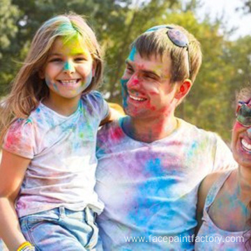 Organic Color powder for holi festival celebration