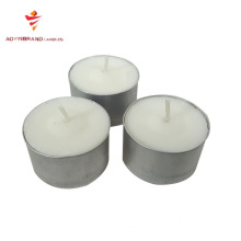 12g praffin wax unscent candles private label scented