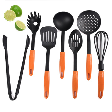 Fast Delivery for Nylon Kitchen Utensils Set Kitchen cheap nylon cooking utensils with holder export to Spain Suppliers