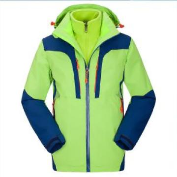 Men fashion ski parka taped seams waterproof jacket