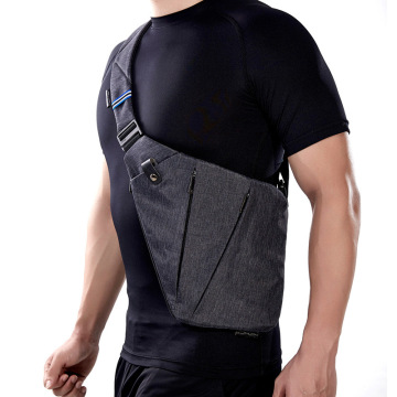 Travel Anti Theft Shoulder Sling Bag For Men