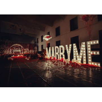 Outdoor Garden Wedding Marquee Letter Sign Display