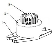 Damper Drawing For Coffee Maker