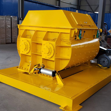 manual concrete mixer twin shaft