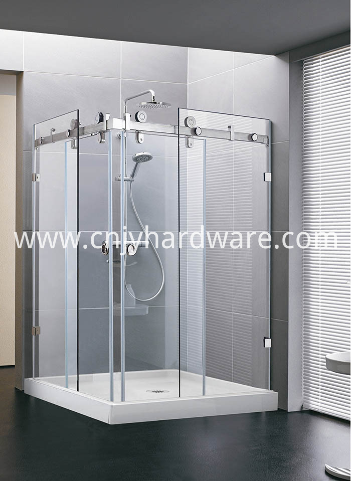 Tempered Glass Sliding Door