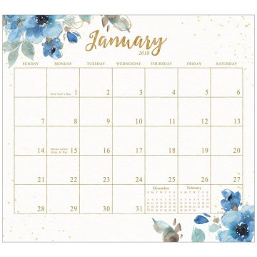 Refrigerator Door Magnetic Fridge Calendar Sticker