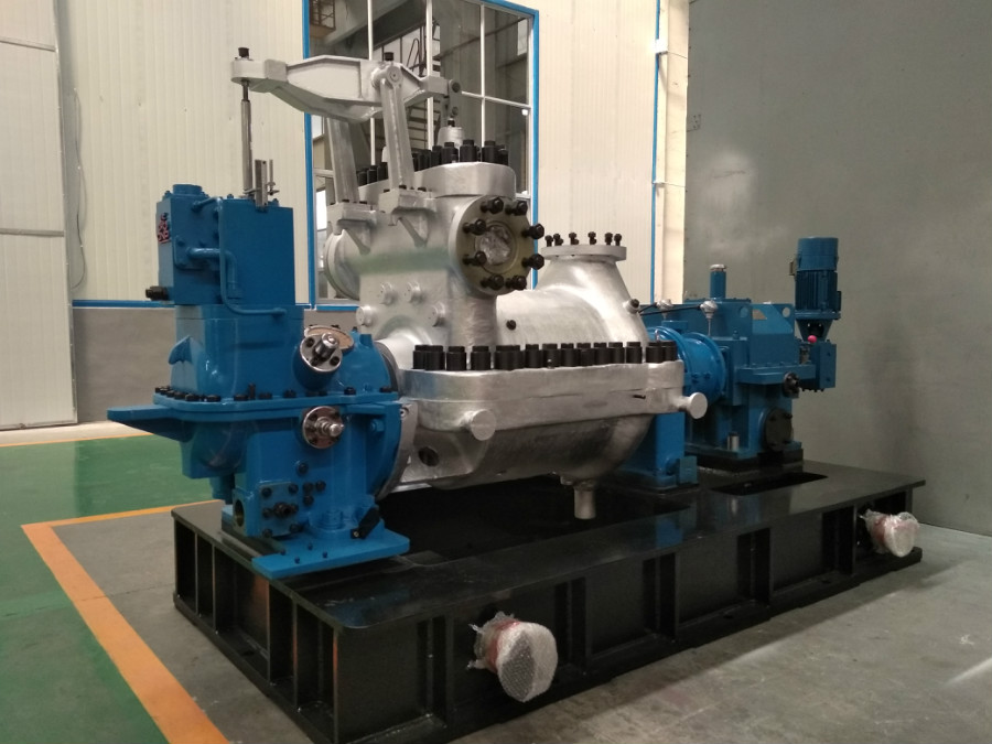 Condensing Steam Turbine 10
