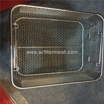Metal Wire Storage Basket For Kitchen/ Pantry/ Cabinet