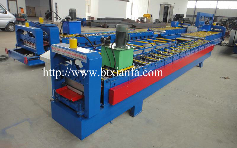 Sheet Metal Roofing Tile Making Machine