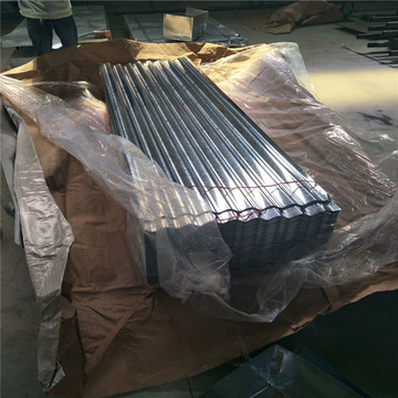 Z120g Steel Plate Galvanized Steel Corrugated Roofing Sheet