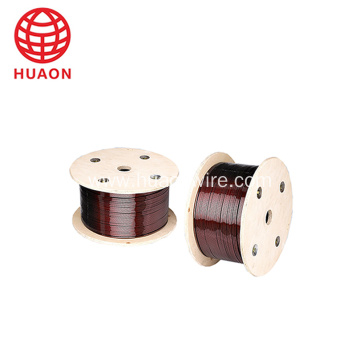 Enameled Polyimide Clad Aluminum Wire For Motor