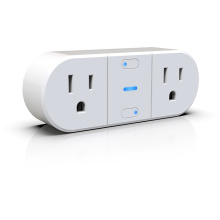 2 Outlet wifi individual controlled socket