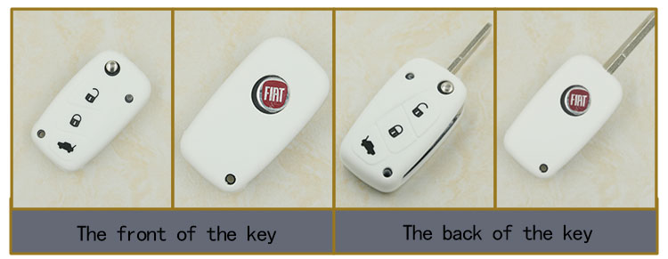 Fiat car key cover