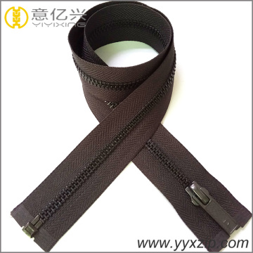 custom 4.5YG slider copper closed end zipper