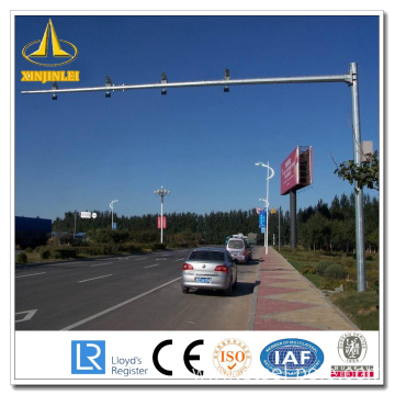 Galvanized CCTV Monitoring Pole