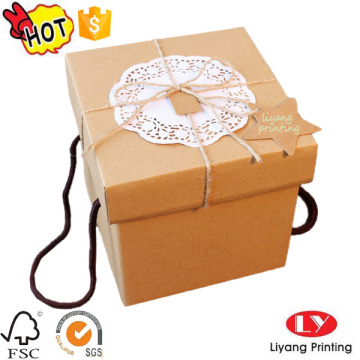 Decoration Lids Cardboard Gift Boxes with Logo Printed