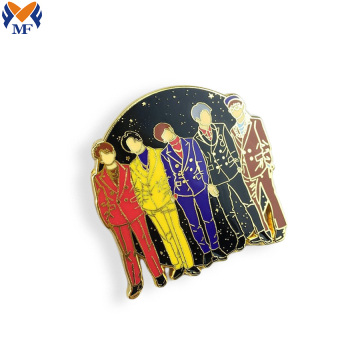 Wholesale custom hard enamel pin badge