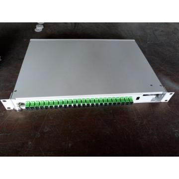 Manufacturer for 19' Rack Mount Fiber Patch Panel 24 ports SC/APC Rotating type Fiber Box export to Bhutan Manufacturers