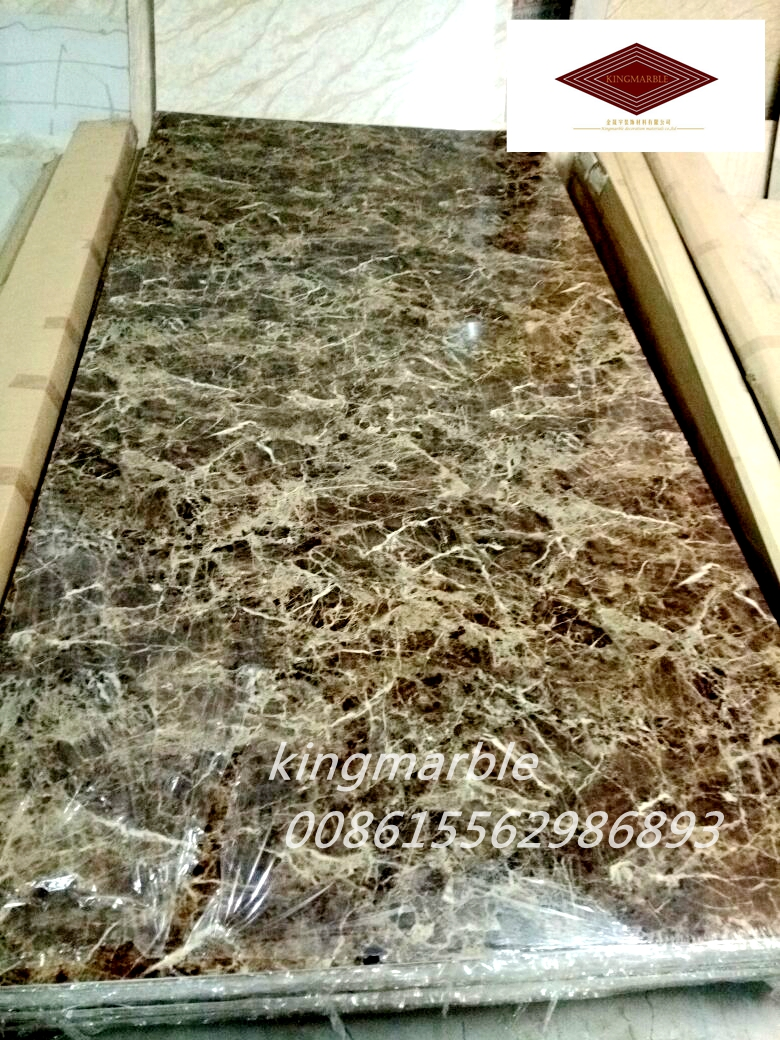 Decoration materials pvc marble wall sheet 4x8 ft