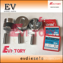 MITSUBISHI engine parts piston S3L2 piston ring