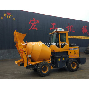 Drum Mobile Beton Mixer