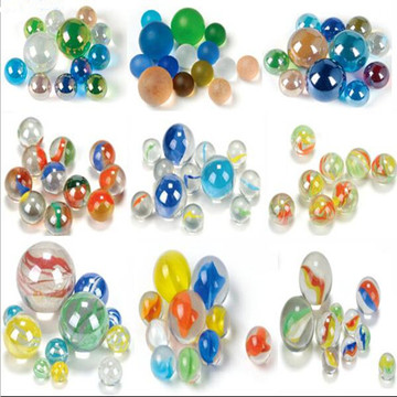 Leading for Aquarium Glass Marbles Hot sale transparent cat eye glass marbles export to Georgia Importers
