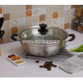 Stainless Steel Double Layer Steamer Pot