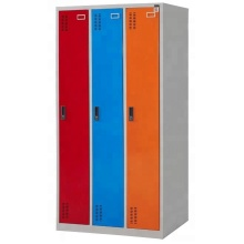 America metal 3 door locker for school