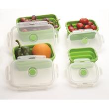 On-time Delivery set of 4 Silicone Lunch Box
