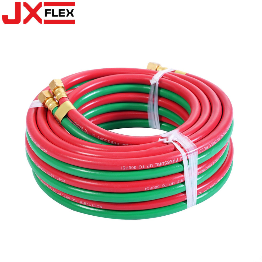 pvc welding twin hose
