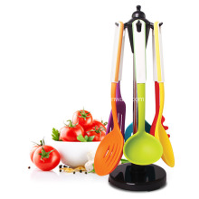 Leading for Silicone Kitchen Tool,Silicone Stainless,Steel Tube Kitchen Tools Manufacturer in China Silicone Kitchen Utensils 7 Pieces Set export to Netherlands Importers
