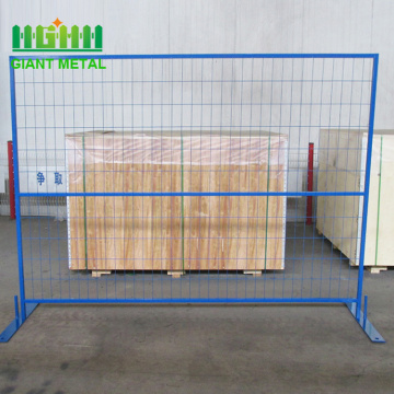 PVC coated portable security canada temporary fence