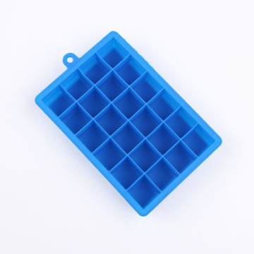 baking cake in silicone ice cube trays