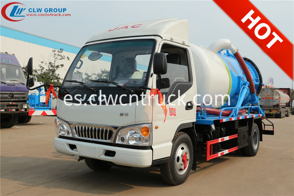 jac sewer cleaning truck