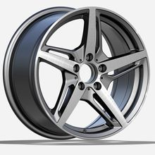 Alloy Mercedes Replica Wheel Silver Machined Face