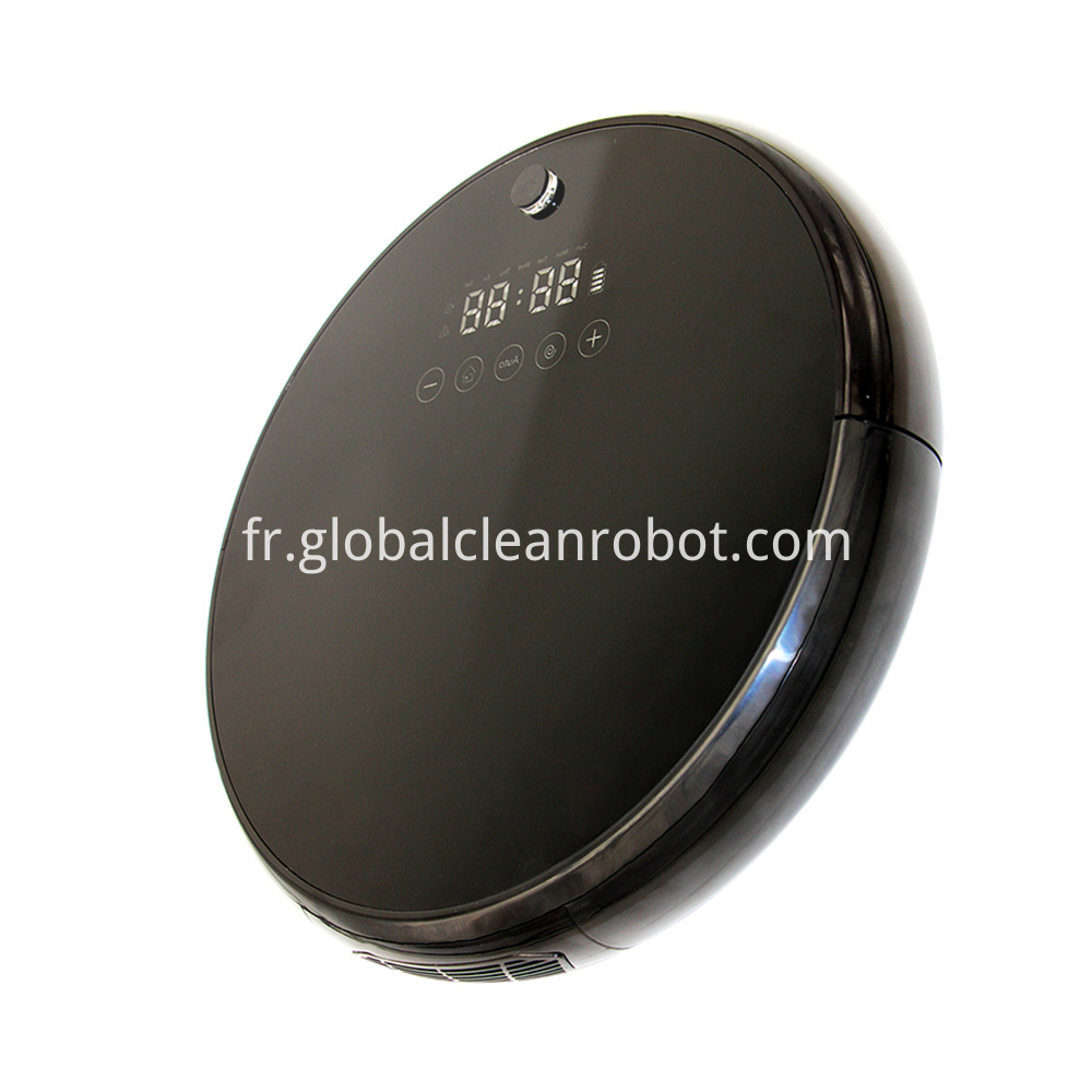 LED Touch Display Vacuum Robot (4)