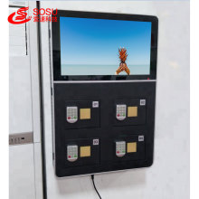 43 inch phone charging advertising machine