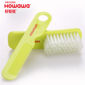 Plastic Baby Hair Washing Accessory Brush&Comb