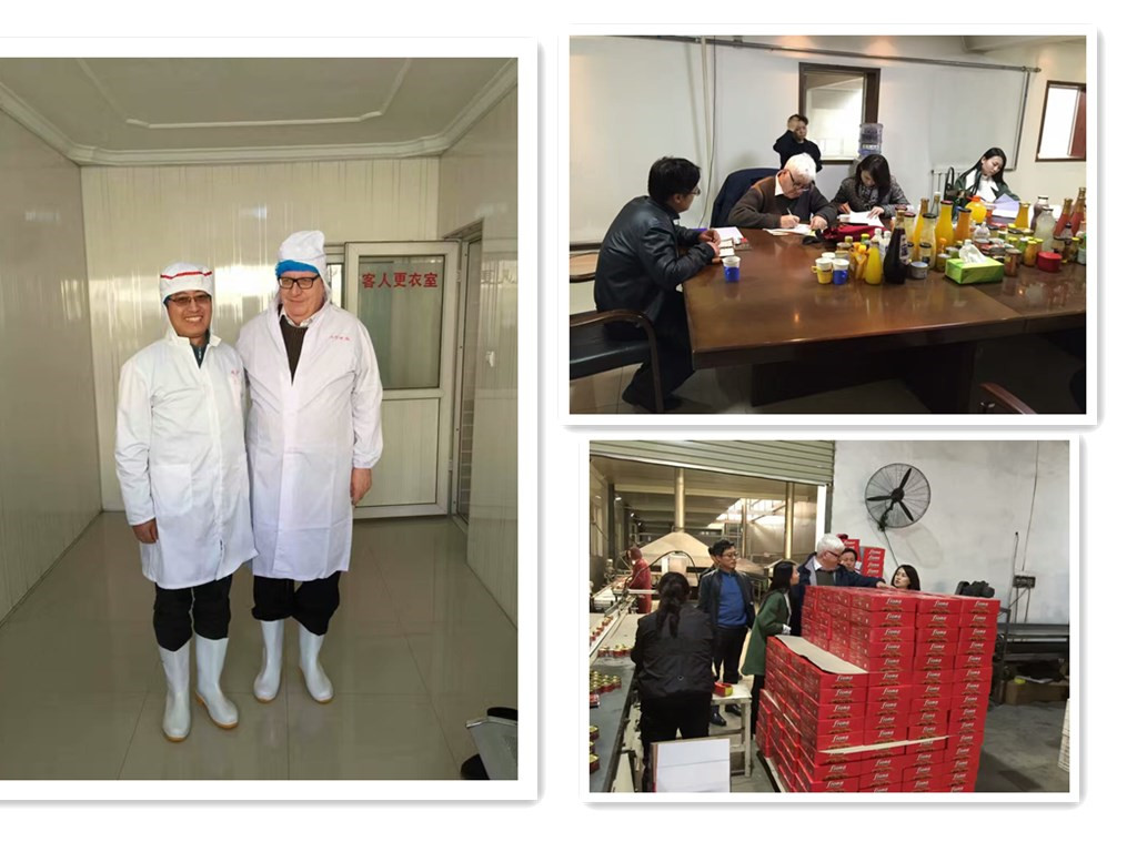 ICRC inspecting our factory - tomato paste